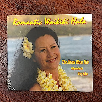 MUSIC CD AND DVD - ROMANTIC WAIKIKI HULA