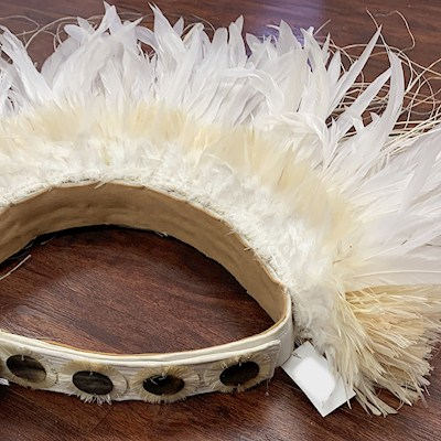FEATHER BUSTLE HIPBAND