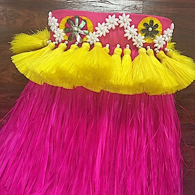 Professional Tahitian More' Costume - Option B
