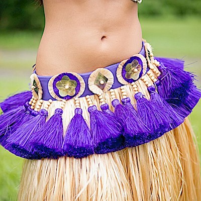 Professional Tahitian More' Costume - Option A