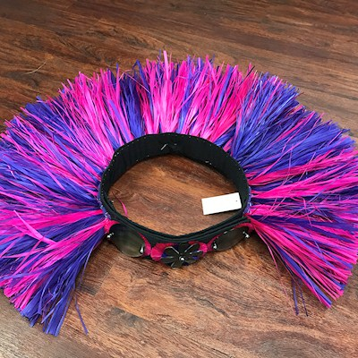 TAHITIAN HAU BUSTLE HIPBAND - MIXED COLORS / NO ACCENT